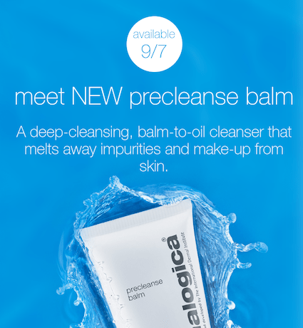 new product precleanse balm